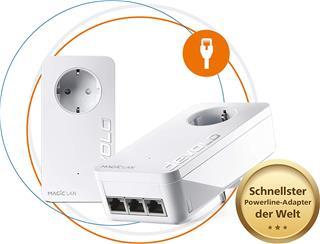 PLC POWERLINE DEVOLO MAGIC 1 WIFI 2-1-1 Adaptador ...