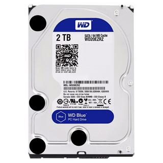 "HD 3.5"" WESTERN DIGITAL 2TB BLUE SATA3 64MB RECERTIFIED"