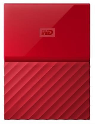 DISCO DURO EXT USB3.0 2.5  3TB WD MY PASSPORT ROJO
