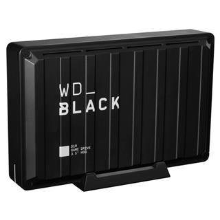 Disco duro externo Western Digital D10 8TB negro