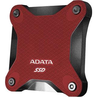 Disco duro externo Adata SD600Q 480GB USB3.2 rojo