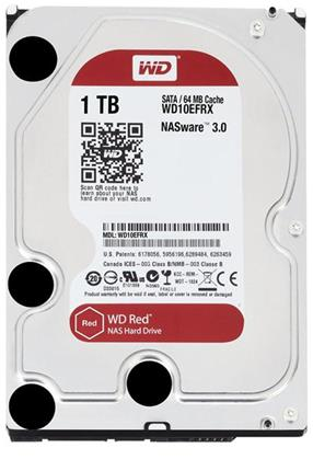Disco Duro Interno para NAS Western Digital 1TB Red SATA III 3.5