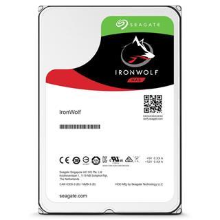 """Disco duro interno Seagate IronWolf NAS 3.5"""" 10TB 7.2K SATA"""