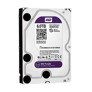 "HD 3.5"" WESTERN DIGITAL 6TB SATA 3 64MB PURPLE"