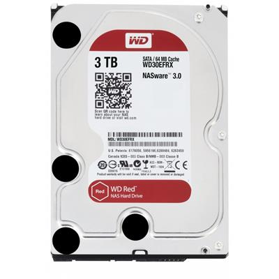"""HD 3.5"""" WESTERN DIGITAL 3TB SATA3 64MB E.RED ..."""