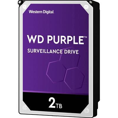 """HD 3.5"""" WESTERN DIGITAL 2TB SATA 3 PURPLE  64MB ..."""