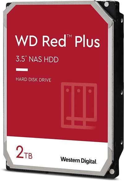 """Disco duro Western Digital Red Plus 3.5"""" 2TB ..."""