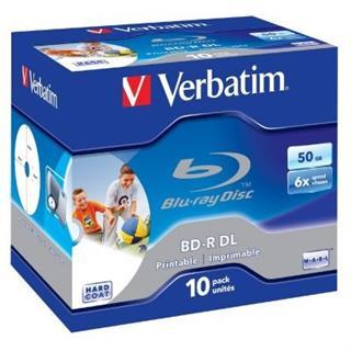 Discos Blu-Ray Verbatim BD-R 6X Double Layer 50GB ...