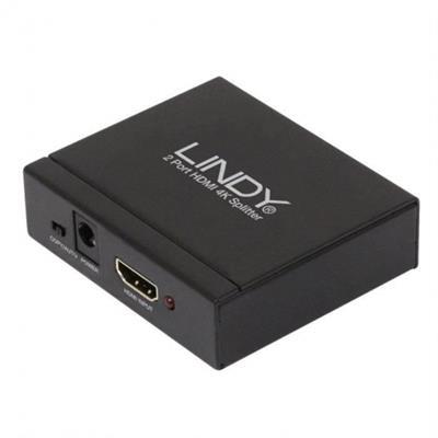 Divisor Splitter Lindy HDMI 4K 2 puertos 3D ...