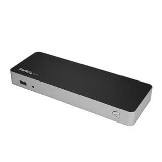 STARTECH DUAL MONITOR USB C DOCK - POWER DELIV 60W - DUAL 4K DP/