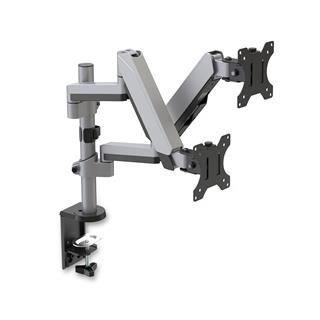 V7 DUAL STACK TOUCH ADJUST MOUNT   TWO DISPLAYS 17-32 IN (81.3 C