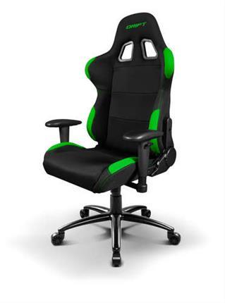 Silla gaming Drift DR100 negra/verde