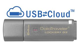 Kingston Data Traveler Locker+G3/64GB USB 3.0