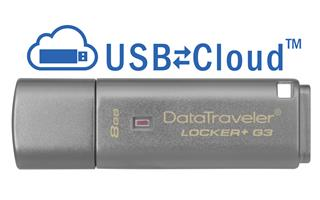 Pendrive Kingston DataTraveler Locker+ G3 8GB ...