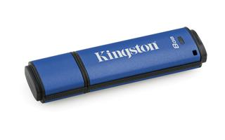 Pendrive KINGSTON 8GB DTVP30 256BIT AES ENCRYPTED ...