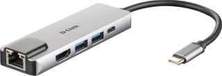 D-Link 5-in-1 Hub HDMI/Ethernet Power Delivery