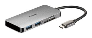 D-Link 6-in-1 USB-C Hub Multi