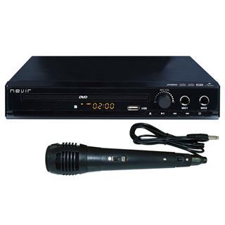 DVD Nevir Nvr-2329 DVD-KUM Karaoke + micrófono