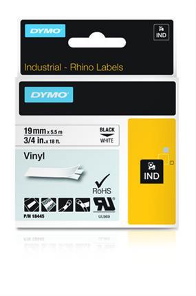 Dymo ID1-19   BLANCO (VINILO)