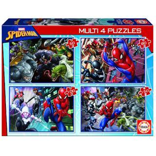 Puzzles Educa Borrás 4 unidades 50-80-100-150 ...