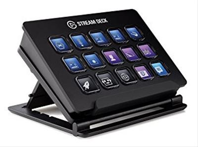 Elgato Stream Deck teclado USB Negro