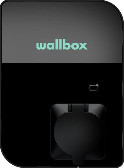 Enchufe Wallbox Copper SB OCPP 22KW negro ...