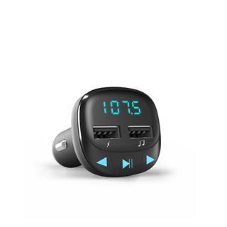 Energy System Car Transmitter FM Black (microSD. USB Charge. USB