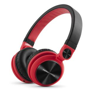 Energy System Headphones DJ2 Red (Flip-Up Ear ...