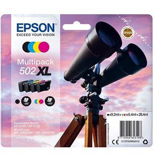 Cartucho tinta epson epson multipack 4colours 502xl