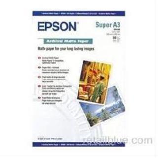Epson GF Papel Archival Matte. A3+. 50 h. 189g.