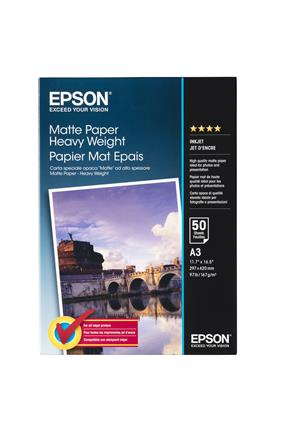 Papel Epson mate alto gramaje A3 50hojas