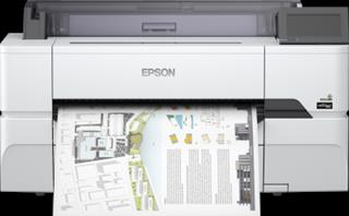 Plotter Epson SureColor SC-T3405N tinta color WiFi