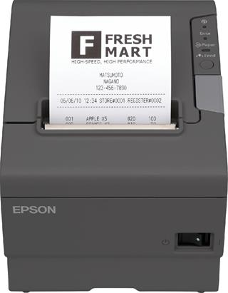 Epson TM-T88V Thermic Black+USB