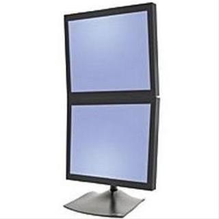 """Ergotron 33-091-200 soporte vertical 2 pantallas 24"""""""