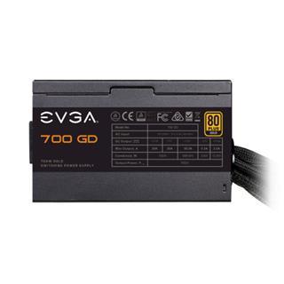 FUENTE EVGA 700 GD, 80+ GOLD 700W, 5 Year Warranty