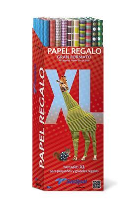 EXPOSITOR PAPEL KRAFT IMPRESO REGALO 1X2M .50 ...