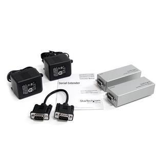 Extensor Startech de conector serie por Ethernet cat.5 RS232 DB9