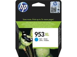 Hp ink cartridge no 953xl cyan     blist