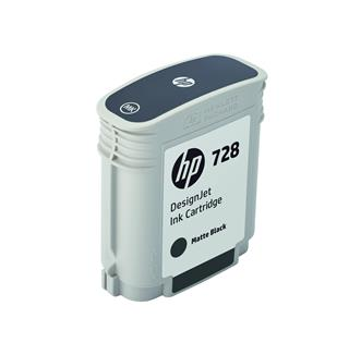 Cartucho de tinta HP Ink Cartridge 728 69ml DJ Negro mate