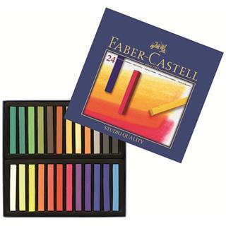 Faber-Castell ESTUCHE 24 BARRAS SOFT PASTEL FABER ...
