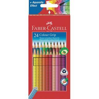 Faber-Castell ESTUCHE 24 LAPICES COLOR GRIP FABER ...