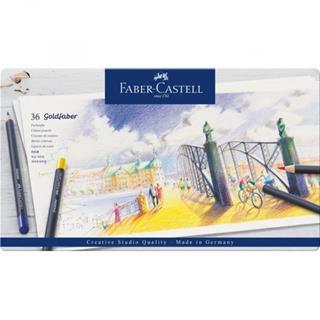 Faber-Castell ESTUCHE DE METAL CON 36 LÁPICES DE ...