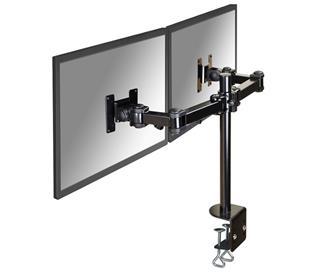 Newstar Desk mount 2 monitors -3 Pivot points