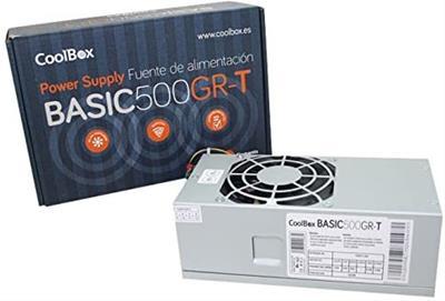 FUENTE ALIMENTACION COOLBOX BAASIC 500GR-T TFX 500