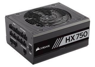 FUENTE ALIMENTACION CORSAIR HX750 750 WATT FULLY MODULAR 80+ PLA