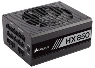 FUENTE ALIMENTACION CORSAIR HX850 850 WATT FULLY MODULAR 80+ PLA