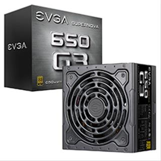 FUENTE ALIMENTACION EVGA SUPERNOVA 650 G3. 80 PLUS GOLD 650W. FU