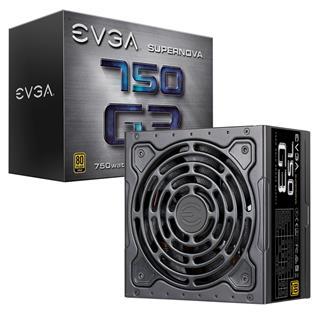 Fuente de Alimentación EVGA SuperNOVA 750W 80 Plus Gold Modular
