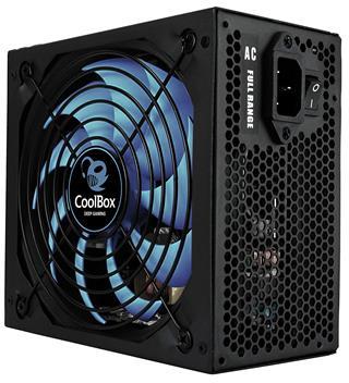 Fuente de ALimentación POWER CASE  ATX COOLBOX    DEEPGAMING 650