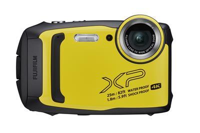 Cámara Fujifilm FinePix XP140 amarilla
